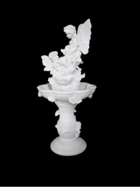 Two Angel Marble Fountain