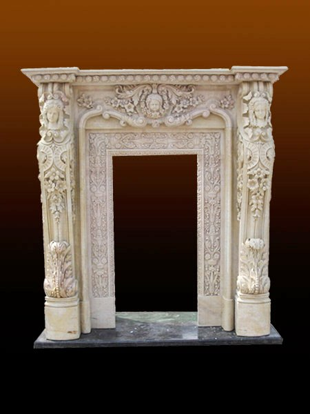 Antique Marble Door Surround
