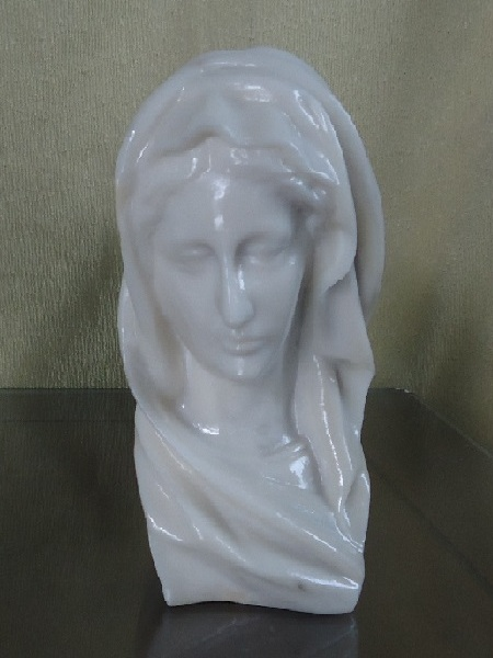 Maria Bust Resin Statue