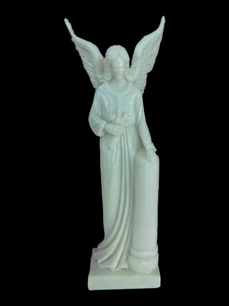 Standing Angel Resin Statue