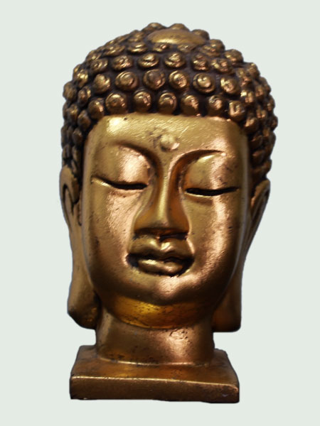 Buddha Bust Resin Statue