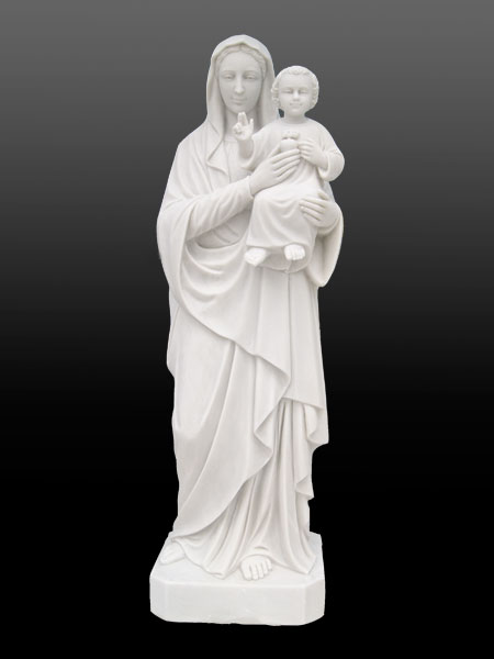 Stone Statues Of Virgin Mary