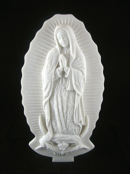 Our Lady of Guadalupe Stone Statue