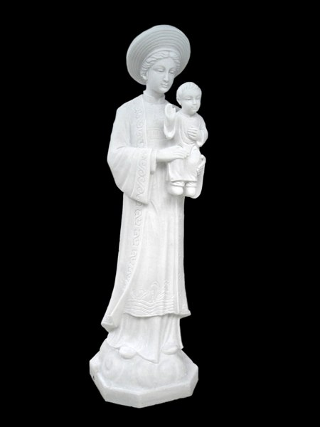 Our Lady of La Vang marble statue