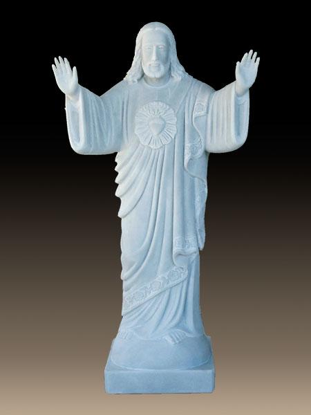 Welcoming Jesus Christ Stone Statue Dsf C40