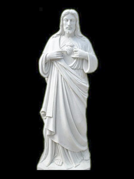 Sacred Heart of Jesus Garden Stone Statue DSF-C51