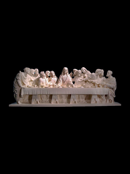 Life size High Quality Last Supper Stone Statue