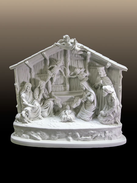 Nativity of Jesus Stone Statue