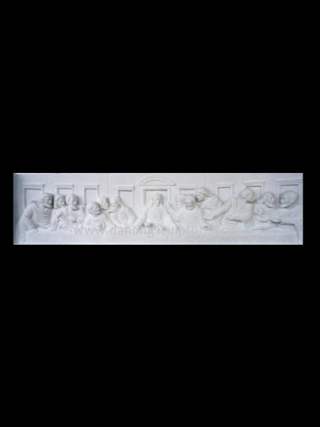 High Quality Last Supper Stone Relief