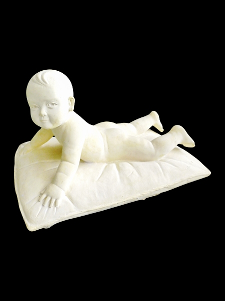 Baby on Pillow Stone Statue DSF-EB13