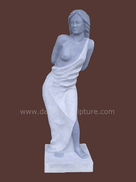 Nude Woman Art Granite Statue