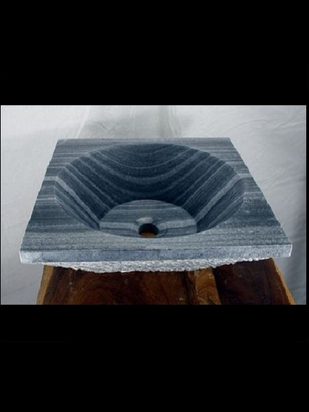 Black Marble Square Basin DSF-B56