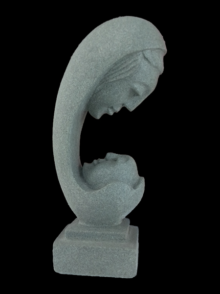 Mini Maternal Love Abstract Statue