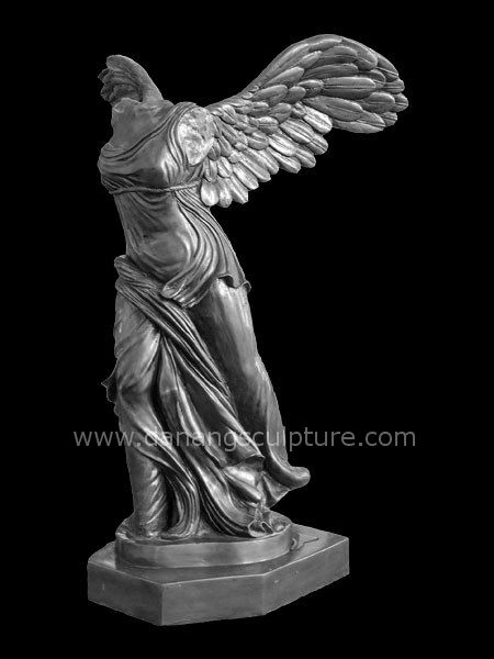 Winged Victory Nike Marble Statue